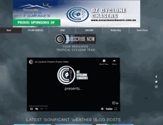 ozcyclonechasers.com.au screenshot