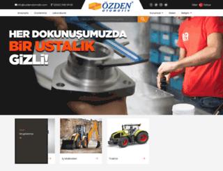 ozdenotomotiv.com screenshot