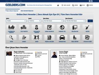 ozelders.com screenshot