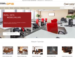 ozelofis.com screenshot