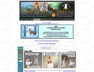 ozfoxes.net screenshot