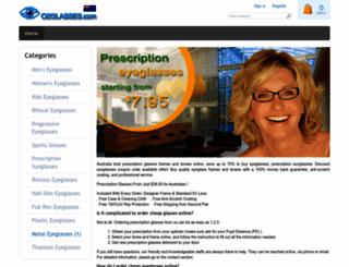 ozglasses.com screenshot