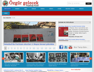 ozgurgelecek.org screenshot