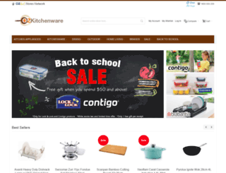ozkitchenware.com.au screenshot