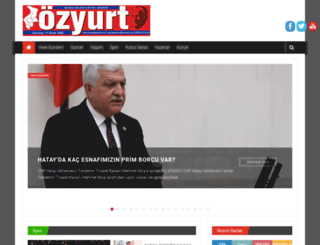 ozyurtgazetesi.com screenshot