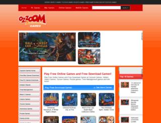ozzoomgames.com screenshot
