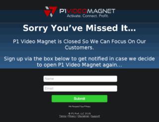 p1videomagnet.net screenshot