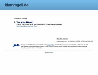 p4.klammgeil.de screenshot