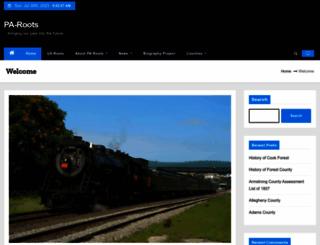 pa-roots.com screenshot