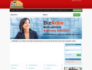 pa.bizadee.com screenshot