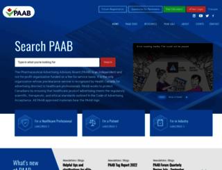 paab.ca screenshot