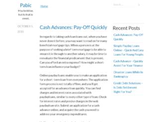 pabic.org screenshot