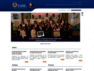 pablolivas.uanl.mx screenshot