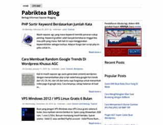 pabriktea.blogspot.com screenshot