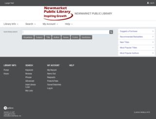 pac.newmarketpl.ca screenshot