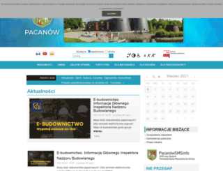 pacanow.pl screenshot