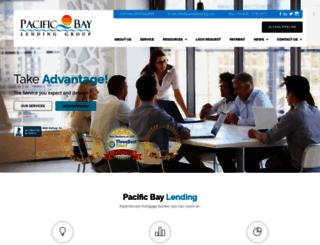 pacbaylending.com screenshot