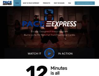 paceexpress.com screenshot