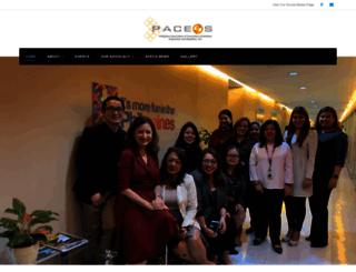 paceos.org screenshot