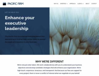 pacfirm.com screenshot
