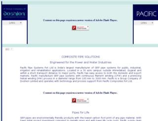 pacific-pipes.com screenshot