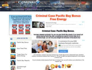 pacificbaybonus.com screenshot