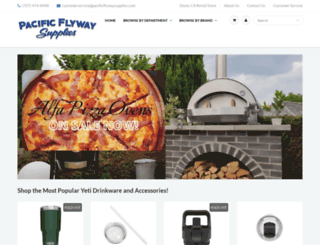 pacificflywaysupplies.com screenshot