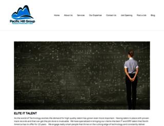 pacifichillgroup.com screenshot