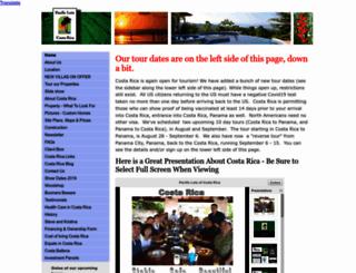 pacificlots.com screenshot