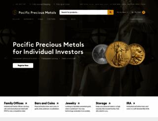 pacificpreciousmetals.com screenshot