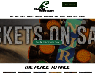 pacificraceways.com screenshot