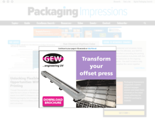 packageprinting.com screenshot