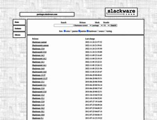 packages.slackware.com screenshot