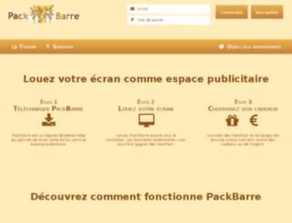 packbarre.com screenshot
