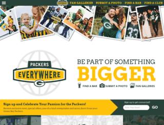 packerseverywhere.com screenshot