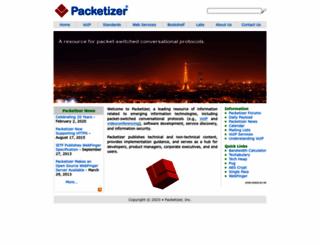 packetizer.com screenshot