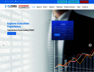paconline.com.my screenshot