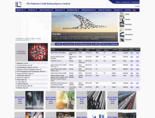 pacra.com.pk screenshot