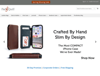 padandquill.com screenshot