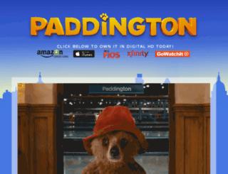 paddingtonparties.com screenshot