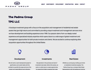 padmagroup.com screenshot