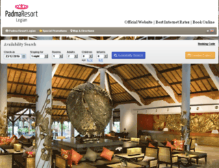 padmaresortbali.reserve-online.net screenshot