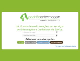 padraoenfermagem.net.br screenshot