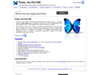 padre.perlide.org screenshot