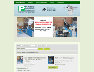 paesmateriaisgraficos.com.br screenshot