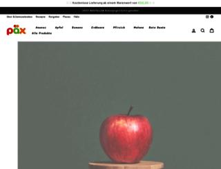 paexfood.de screenshot
