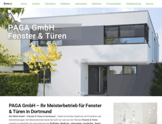 paga-gmbh.de screenshot