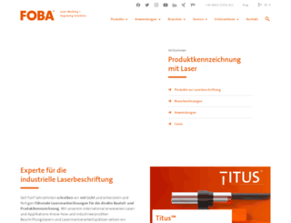 page.foba.de screenshot