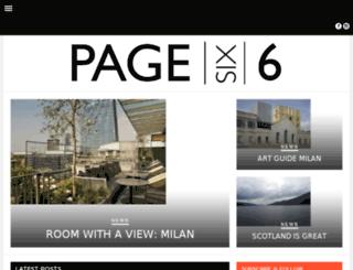 page6six.com screenshot