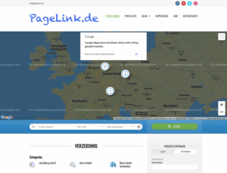 pagelink.de screenshot